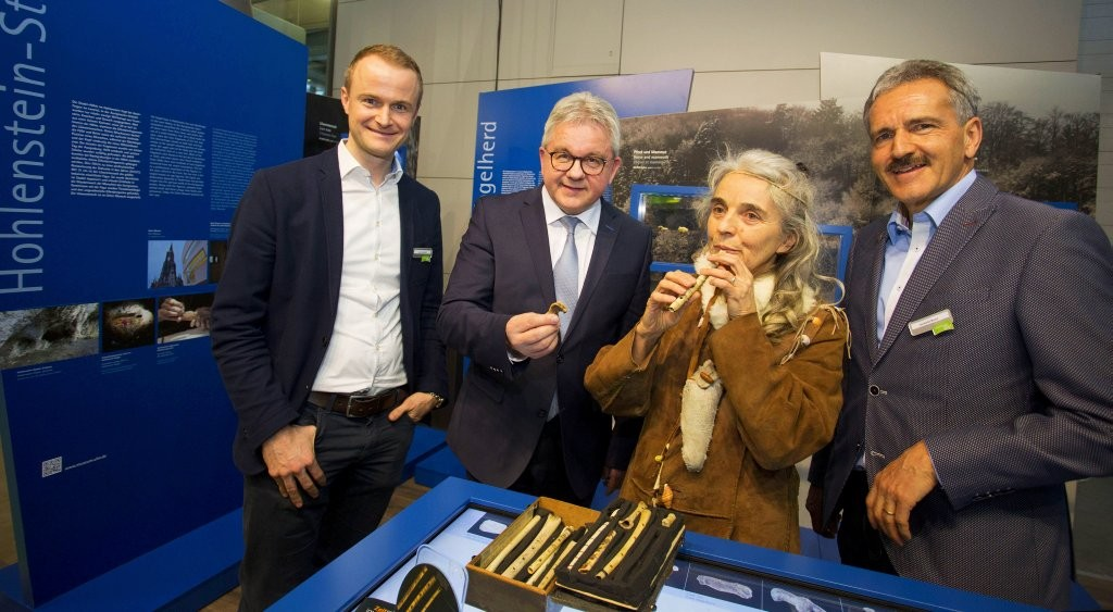 Messe CMT 2017 Tourismustag Rundgang mit Minister Guido Wolf